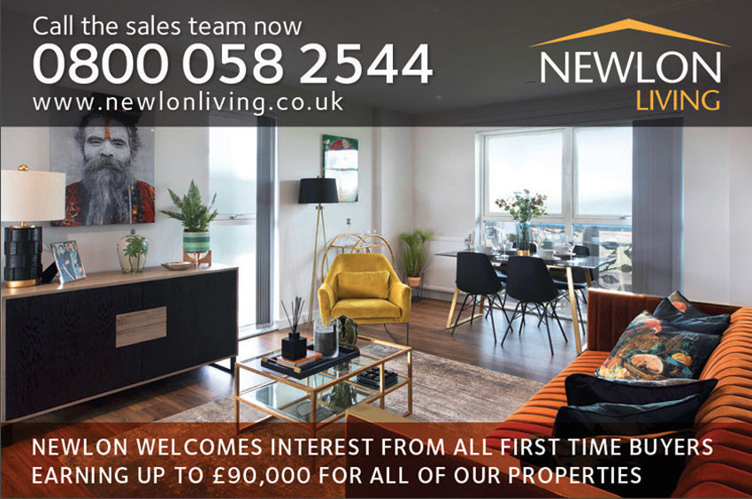 Newlon grey living room advertisement