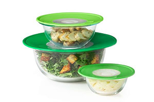 OXO kitchen products review - reusable lids