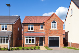 new home example available for shared ownership or help to buy scheme