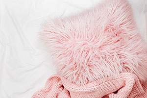 Pink cushions to style your new home with