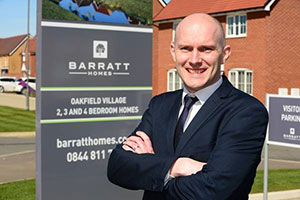 Simon Francis from Barratt and David Wilson Homes searching for new apprentices