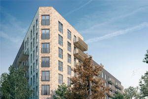 Shared ownership apartments at New Statford Works