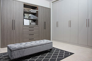 Grey Oak bedroom furniture from Daval