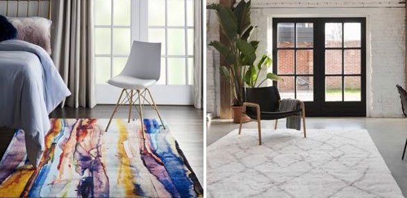 Coloured rugs - 20 Top Tips for 2020: Choosing the Right Rug