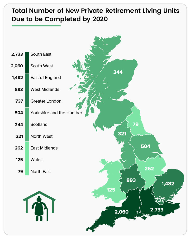 Savoy Stewart map of retirement units - Older Persons Shared Ownership