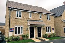 A typical shared ownership property for sale
