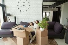 first-time buyers in new home